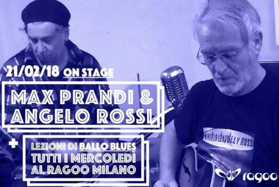 MAX PRANDI & ANGELO ROSSI Live Blues