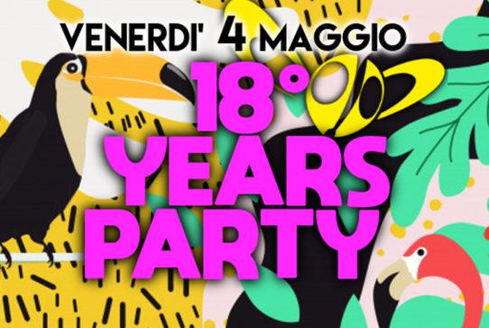 RAGOO's 18th BIRTHDAY PARTY