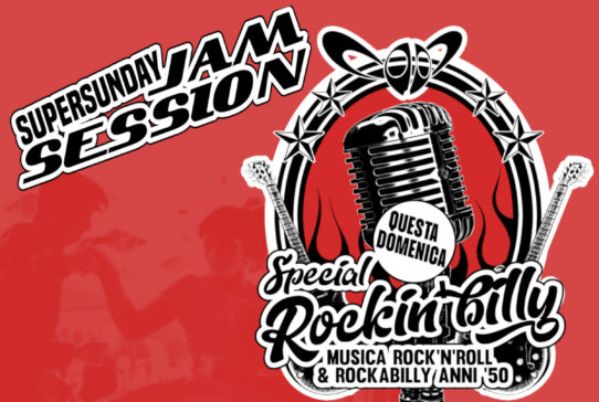 SUPERSUNDAY JAM SESSION Special Rockin'billy